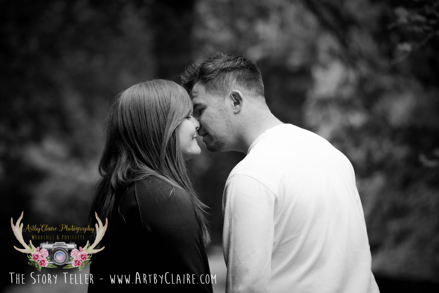 Ashridge Engagement Shoot by ArtbyClaire Wedding Photography