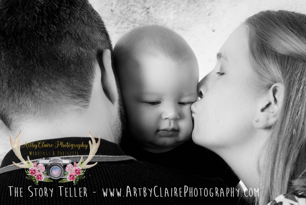 ArtbyClaire Portrait Photographer Family Portrait