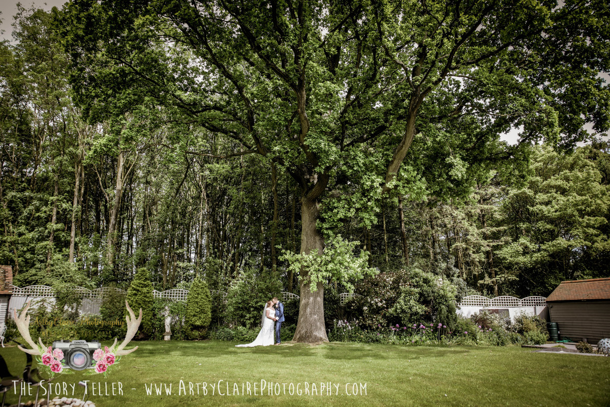 ArtbyClaire Natural Wedding Photography at Tea Green, Luton