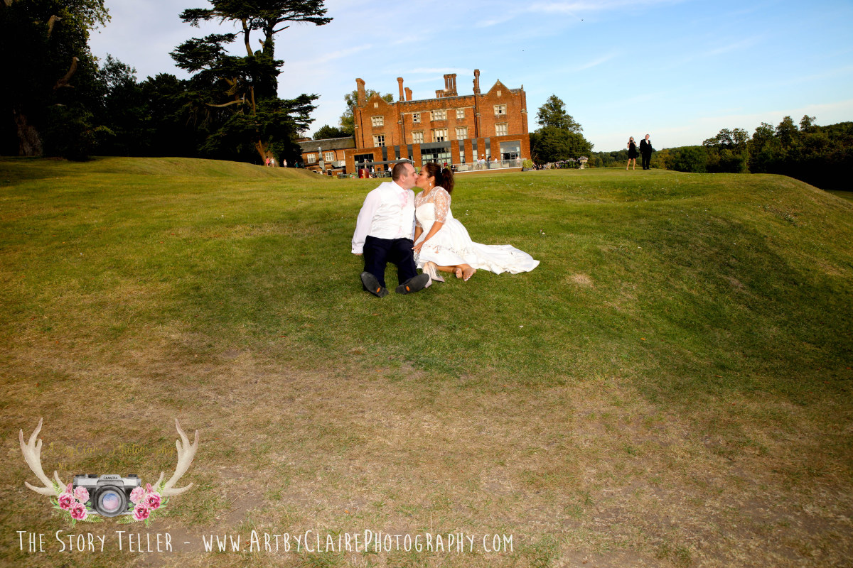 ArtbyClaire Wedding Photography at Devere Latimer House