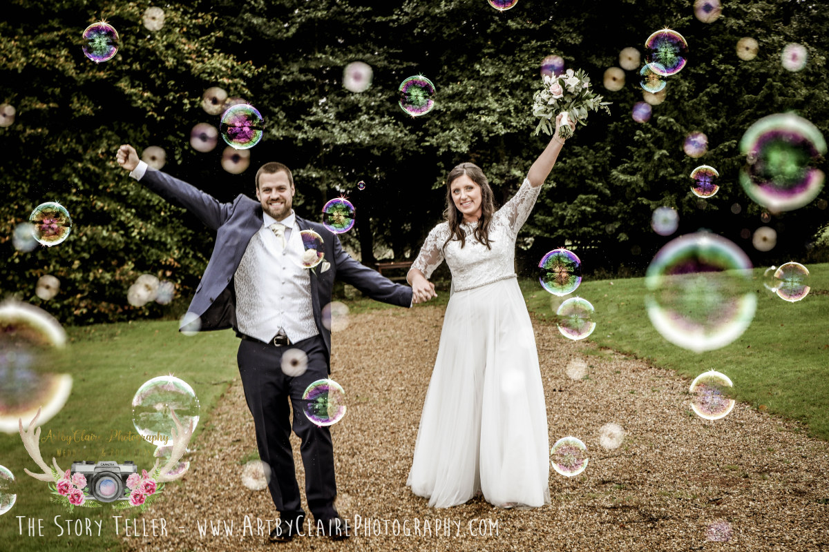 ArtbyClaire Creative Wedding Photography at Shendish Manor